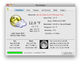 home weather station software mac